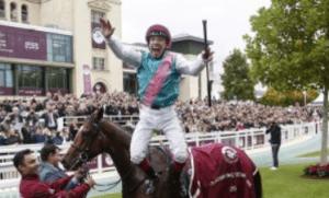 How many times has Frankie Dettori won the Prix de l'Arc de Triomphe?
