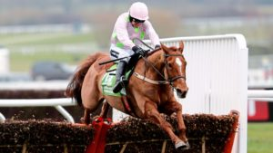 Which horse holds the course record for the Champion Hurdle?