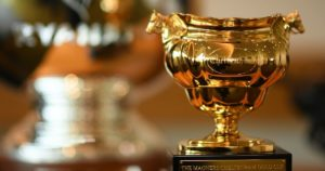 Which horse won the inaugural running of the Cheltenham Gold Cup?