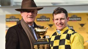 How many winners does it take to win the Leading Jockey Award at the Cheltenham Festival?
