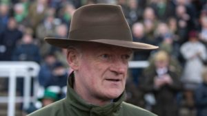 Did Willie Mullins ever ride a winner at the Cheltenham Festival?