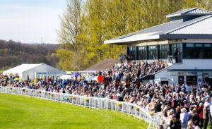 Which racecourse is situated in Scone Palace Park?
