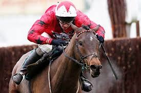 Which was the first British-trained horse home in the 2021 Grand National?